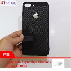 Ốp lưng chống nóng ,tản nhiệt cao cấp cho iPhone 7 Plus đen