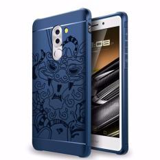 Bán Ốp Lưng Chống Sốc Hoa Văn Cho Huawei Gr5 2017 Honor 6X Đen Fashion Case