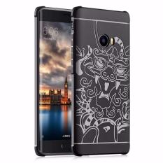 Chiết Khấu Ốp Lưng Chống Sốc Hoa Văn Cho Xiaomi Mi Note 2 Đen