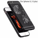 Ốp Lưng Chống Sốc Hoa Văn Hinh Ca Chep Cho Iphone 6 Plus 6S Plus Trong Hà Nội