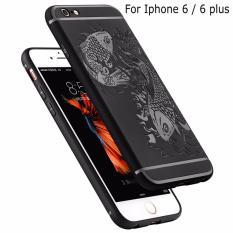 Bán Mua Ốp Lưng Chống Sốc Hoa Văn Hinh Ca Chep Cho Iphone 6 Plus 6S Plus