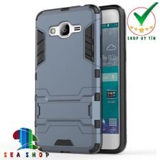 Ốp lưng Samsung Galaxy Grand Prime G5308 iron man chống sốc (Xanh)