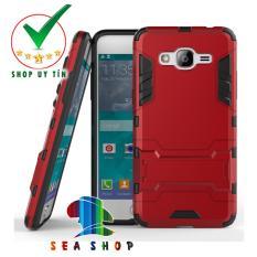 Ốp lưng Samsung Galaxy Grand Prime G530 iron man chống sốc (đỏ)