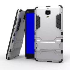 Ốp lưng chống sốc Iron Man Xiaomi Mi4 (Bạc)