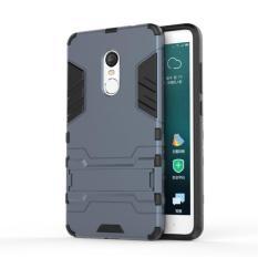 Hình ảnh Ốp lưng chống sốc kiêm giá đỡ điện thoại Iron Man dành cho Xiaomi Redmi Note 4X (Xám)