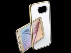 Ốp Lưng Clear Cover Cho Samsung Galaxy S6 Clear Viền Vang Hà Nội Chiết Khấu