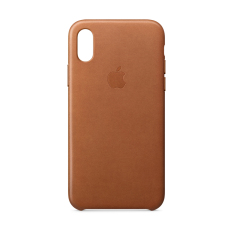 Bán Ốp Lưng Apple Iphone X Leather Case Saddle Brown Trực Tuyến Vietnam