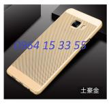 Ốp lưng dành cho Samsung Galaxy C9/C9 Pro dạng lưới tản nhiệt