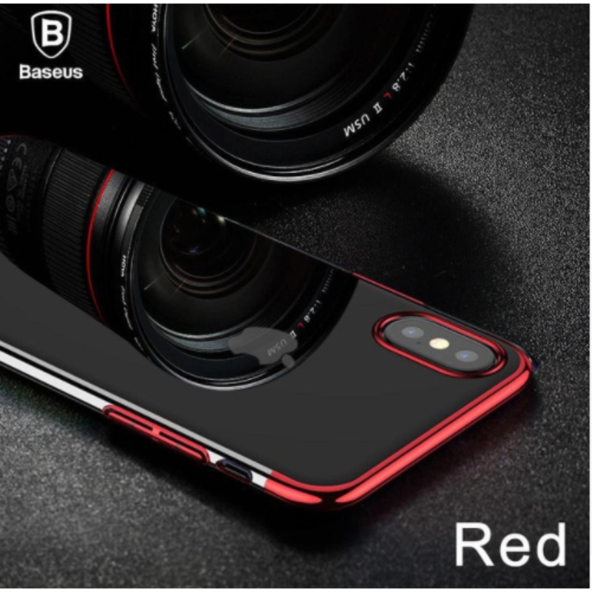 Giá Bán Ốp Lưng Glitter Cho Iphone X Hiệu Baseus Viền Mau Baseus Nguyên