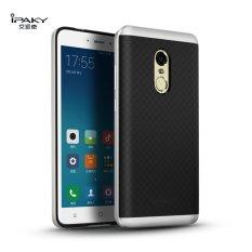 Ốp lưng ipaky cho Xiaomi Redmi Note 4 (Đen viền Bạc)
