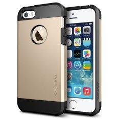 Giá Bán Ốp Lưng Iphone 5 5S Se Spigen Tough Armor Vang Gold Mới Nhất