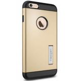 Ôn Tập Ốp Lưng Iphone 6 Plus 6S Plus Spigen Slim Armor Vang Gold Vietnam