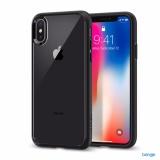 Bán Ốp Lưng Iphone X Spigen Ultra Hybrid Matte Black Spigen Có Thương Hiệu