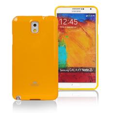 Bán Ốp Lưng Jelly Mercury Samsung Galaxy Note 3 Ốp Dẻo Silicone Goospery Vang Mới