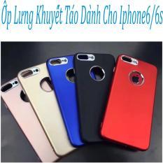Ốp Lưng Khuyết Táo (đỏ) Dành Cho Iphone6/6s Hàng Chất Lượng Loại 1