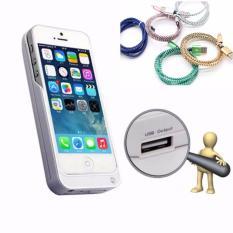 Chiết Khấu Sản Phẩm Ốp Lưng Kiem Pin Sạc Dự Phong Cho Iphone 5 5C 5S 5Se Tặng Kem Day Sạc Cho Iphone