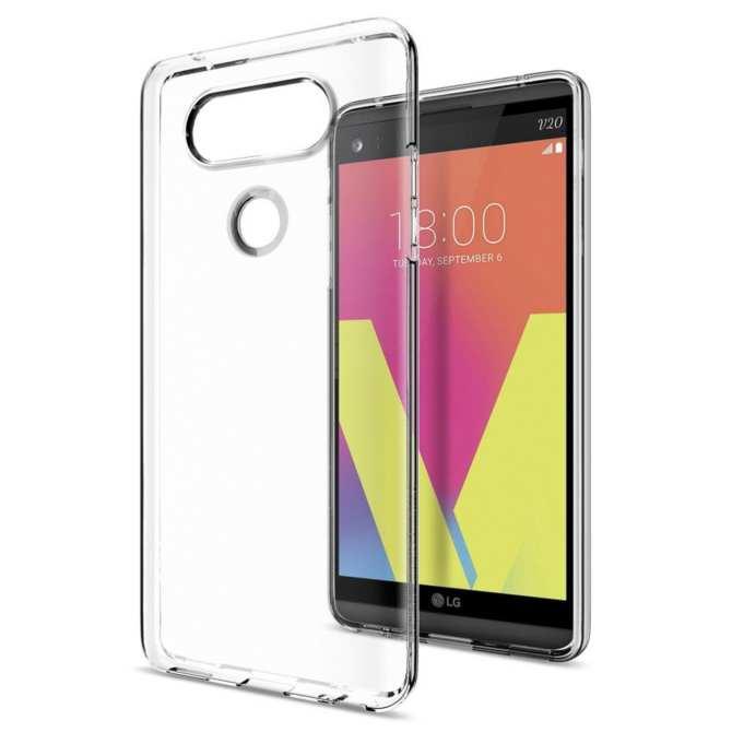 Hình ảnh Ốp lưng Mercury Clear Jelly cho LG V20
