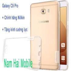 Mua Óp Lưng Nillkin Cho Samsung Galaxy C9 Pro Tặng Kinh Cường Lực Trắng Trong Nillkin