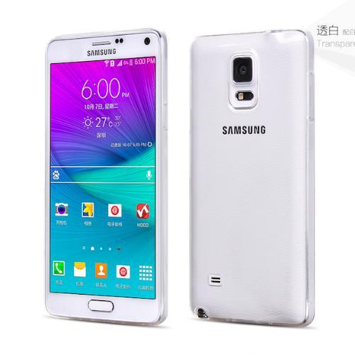 Ốp lưng Silicon dành cho Samsung Galaxy Note 4 (Trong suốt)