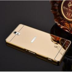 Ốp lưng tráng gương viền kim loại cho Sony C5 Ultra