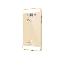 Mua Ốp Lưng Viền Nhom Galaxy A5 Metal Vang Champange Metal