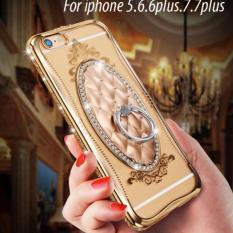 Giá Bán Ốp Shengo Viền Đinh Đa Kem Iring Cho Iphone 5 5S Gold Mới
