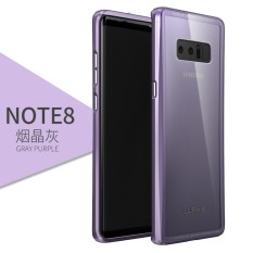 Chiết Khấu Original Luphie Aluminum Metal Bumper Frame Shockproof Case Armor For Note8 Transparent Tempered Glass Back Cover Shell For Samsung Galaxy Note 8 Intl Có Thương Hiệu
