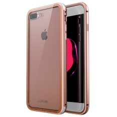 Mua Ốp Lưng Kinh Cường Lực Trong Suốt Luphie Khung Nhom Chống Trầy Xước Cho Iphone 7 Plus Quốc Tế Oem Trực Tuyến