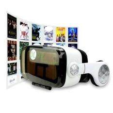 Hình ảnh Ban đầu tư nhân mẫu vr thực tế ảo stereo HỘP đầu gắn 3D kỹ thuật số VR-quốc tế