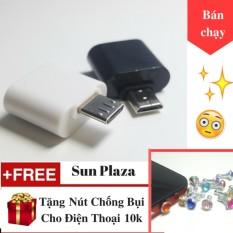 Hình ảnh OTG - Đầu chuyển Micro USB (dành cho android) + Tặng Nút Chống Bụi Cho Điện Thoại