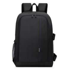 Giá Bán Outdoor Multi Functional Backpack Waterproof Camera Laptop Bag Violet Intl Not Specified Tốt Nhất