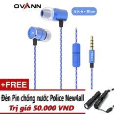 Bán Ovann A100 Tai Nghe Nhet Tai Ovann A100 Tặng Đen Pin Mini New4All Police Trực Tuyến