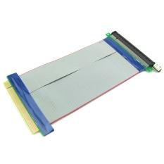 Hình ảnh PCI-E 16X để 16X Nâng Extender Adapter Thẻ GPU Nâng Cáp Mở Rộng Thể Hiện Cáp Linh Hoạt 20 cm-quốc tế