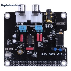 Hình ảnh PCM5122 HIFI ĐẮC Card Âm Thanh Mô Đun I2S có ĐÈN LED Hiển Thị Raspberry Pi-quốc tế