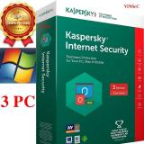 Bán Phần Mềm Bảo Mật Cao Cấp Cho May Tinh Mac Điện Thoại Kaspersky Internet Security Kis 3Pc Dung Cho 3 Pc Mac Điện Thoại Mau Xanh La Đỏ Green And Red Có Thương Hiệu Nguyên