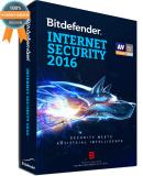 Mua Phần Mềm Diệt Virus Bitdefender Internet Security 2016 1Pc Year Mới