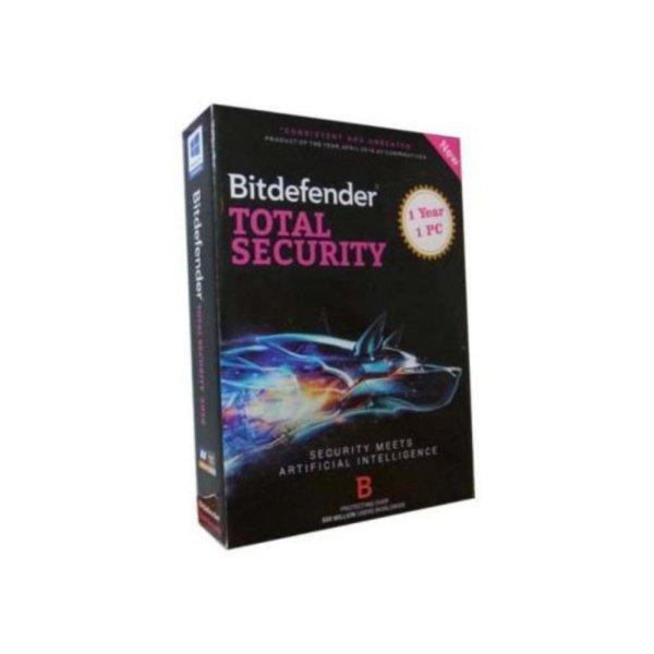 Bảng giá Phần mềm diệt virus Bitdefender Total 1PC Phong Vũ