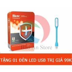 Hình ảnh Phần mềm diệt Virus BKAV Internet Security Pro 2017 + 1 đèn led trị giá 99k