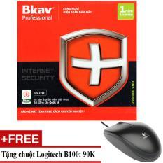 Chiết Khấu Phần Mềm Diệt Virus Bkav Pro Internet Security Tặng Chuột Logitech B100