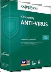Hình ảnh Phần mềm diệt virus Kaspersky Anti-Virus 3PC / 1 năm