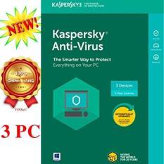 Hình ảnh Phần mềm diệt virus Kaspersky Anti-Virus 3PCS/năm - 2018