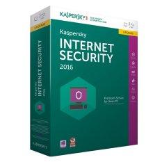 Hình ảnh Phần mềm diệt virus Kaspersky Internet Security 2016 (Xanh)