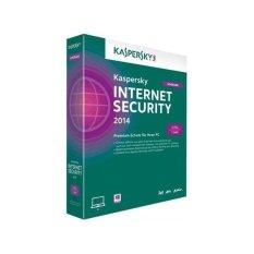Hình ảnh Phần mềm diệt virus Kaspersky Internet Security 5PC (Xanh)