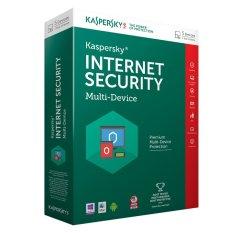 Ôn Tập Phần Mềm Diệt Virus Kaspersky Internet Security Multi Device 2016 Xanh