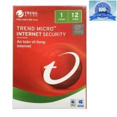Hình ảnh Phần mềm diệt virus Trend Micro Internet Security 2018 1PC