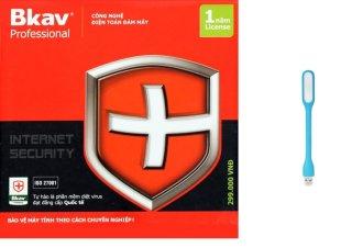 Phần mềm diệt virut Bkav Pro Internet Security tặng kèm đèn led usb chiếu sáng 1000000319+1000000558 thumbnail