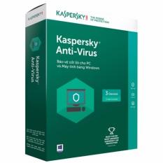 Hình ảnh Phần mềm Kaspersky Anti Virus 3PC/1 Năm