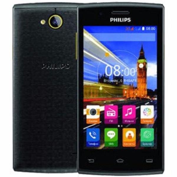 Philips S307 4GB 2 Sim (Đen Vàng) - Tặng 1 ốp lưng+ 1 miếng dán màn hình - Hàng chính hãng