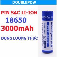 Giá Bán Pin 18650 Doublepow 3000Mah Dung Lượng Thực 4 Vien Doublepow Nguyên