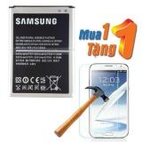 Ôn Tập Tốt Nhất Pin Cho Samsung Galaxy Note 2 Tặng Kinh Cường Lực Hang Nhập Khẩu